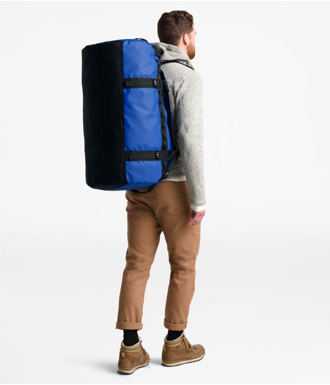 The North Face Base Camp 95L Duffel (Large) | TNF Blue / Tnf Black - KaryKase