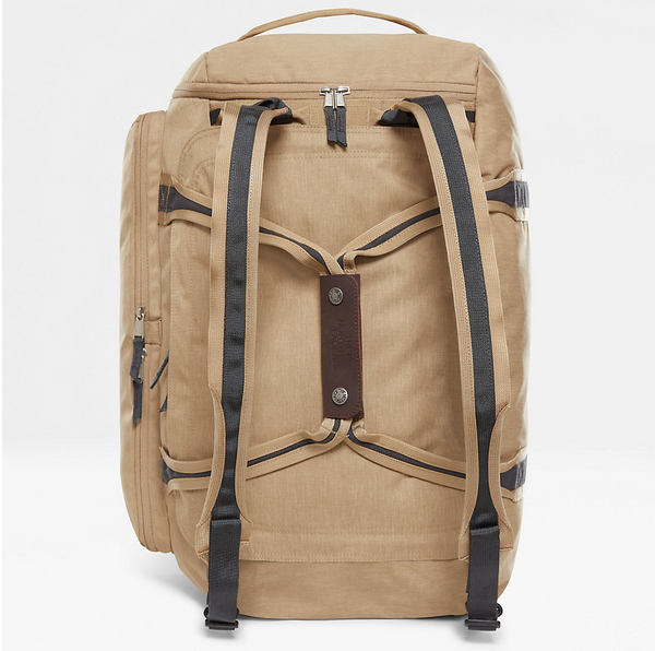 The North Face Berkeley Duffel M | Tan Dark Heather