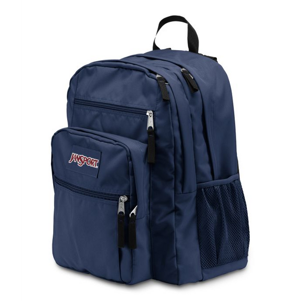 Jansport Big Student Backpack | Navy - KaryKase