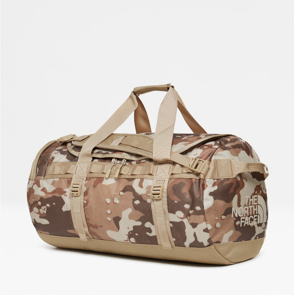 The North Face Base Camp 71L Duffel (Medium) | Moab Khaki Woodchip Camo Desert Print