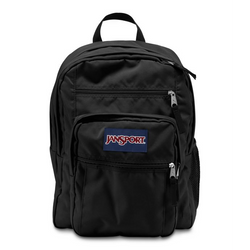 Jansport Big Student Backpack | Black - KaryKase