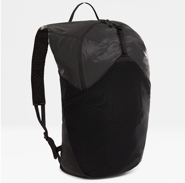 The North Face Flyweight Foldable Backpack | Asphalt Grey / Tnf Black - KaryKase