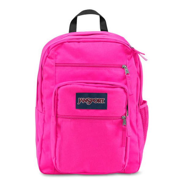 Jansport Big Student Backpack | Ultra Pink