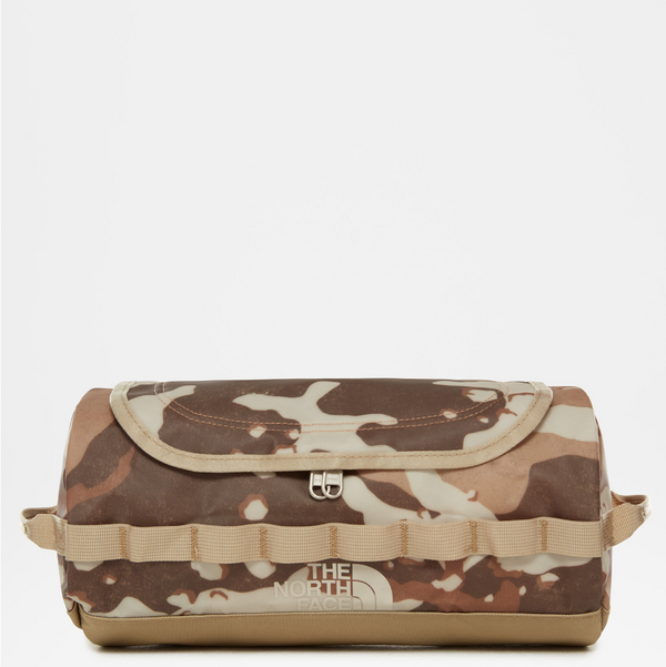 The North Face Base Camp Travel Canister (S) | Moab Khaki Woodchip Camo Desert Print