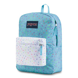 Jansport SuperBreak® Backpack | Blue Topaz Sprinkle Me - KaryKase