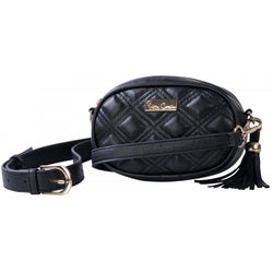 Pierre Cardin Ellie Moonbag & Crossbody | Black - KaryKase