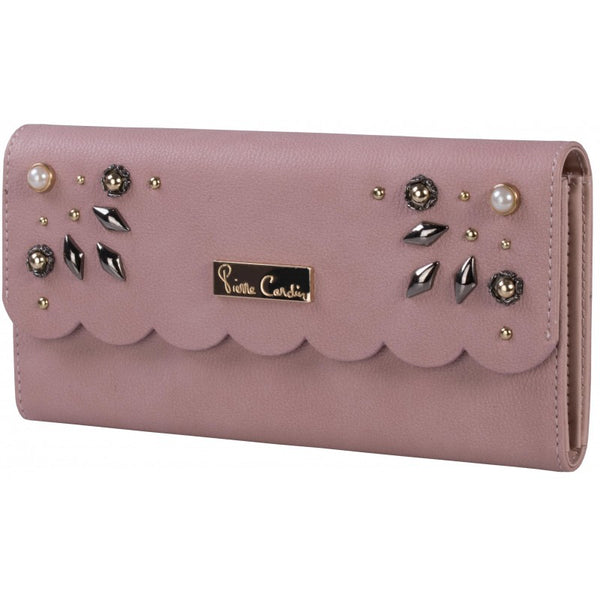 Pierre Cardin Emily Scalloped Purse | Rose - KaryKase