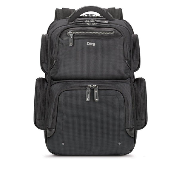Solo Lexington Backpack 15.6″ | Black - KaryKase