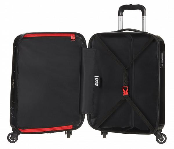 American Tourister Disney Star Wars Legends 55cm Cabin Spinner | Neon Darth Vader