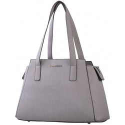 Pierre Cardin Hanna Top Handle Handbag | Grey - KaryKase
