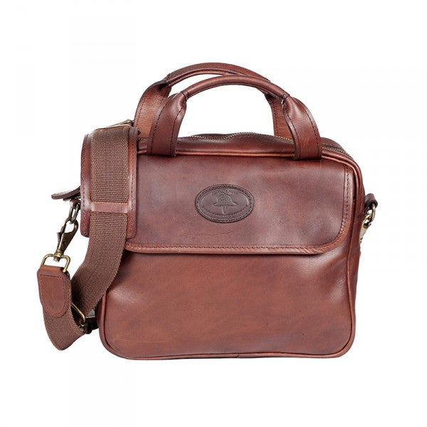 Melvill & Moon Leather iPad Bag | Brown - KaryKase