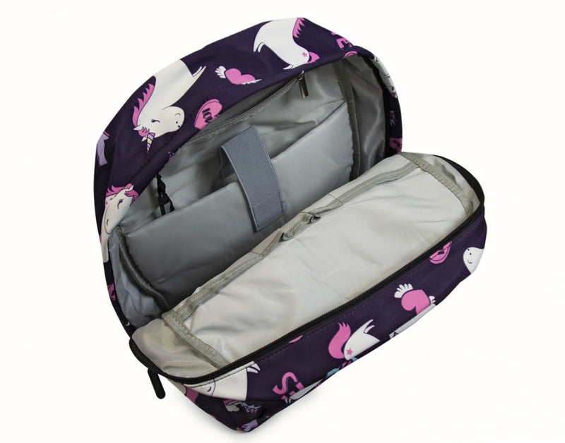 Medoodi Kids Backpack Unicorns | Navy