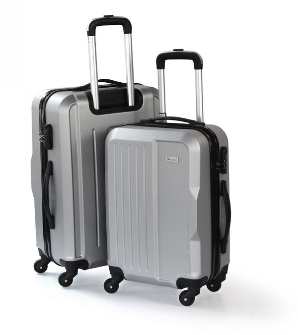 "Medoodi Paris 2pc 55cm & 75cm (20"" & 28"") Luggage Set 