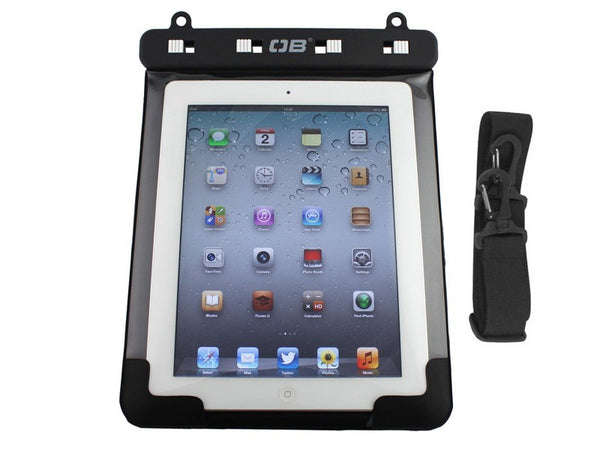 OverBoard Waterproof iPad Case with Shoulder Strap | Black
