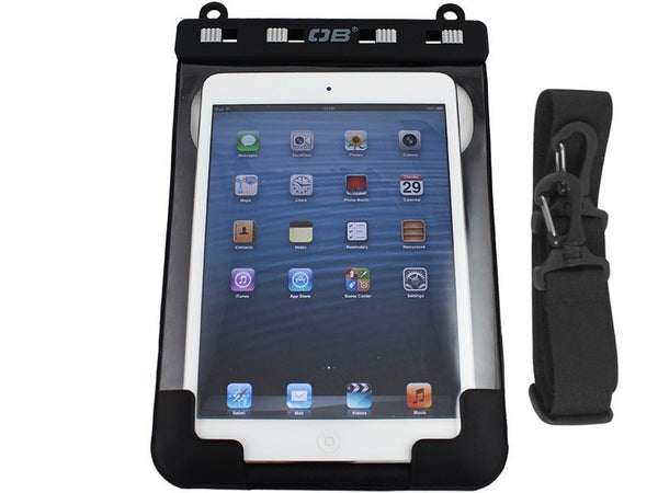 OverBoard Waterproof iPad Mini Case with Shoulder Strap | Black