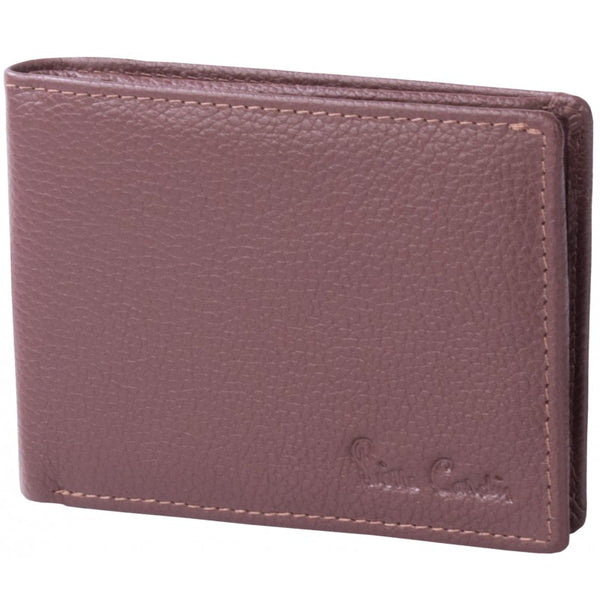 Pierre Cardin Dennis Leather Wallet With Coin Pouch | Brown - KaryKase