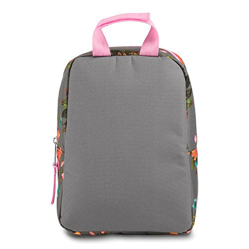 Jansport Big Break Lunch Bag | Sunrise Bouquet Grey - KaryKase