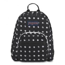 Jansport Half Pint Mini Backpack | Black Sketch Dot - KaryKase