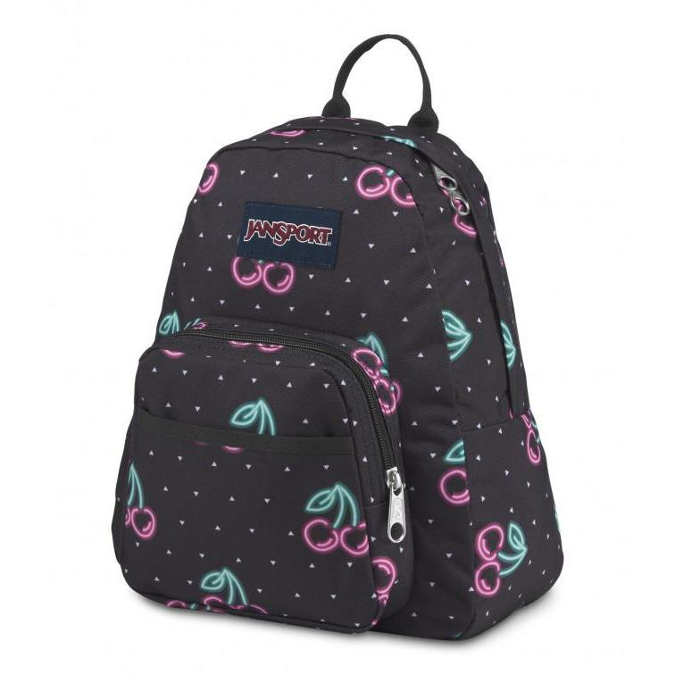 Jansport Half Pint Mini Backpack | Neon Cherries - KaryKase
