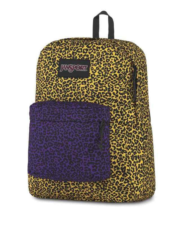 Jansport Black Label SuperBreak® Backpack | Yellow Leopard Life - KaryKase