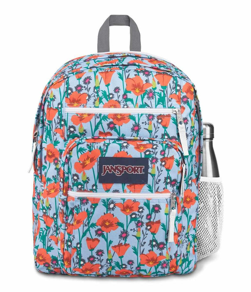 Jansport Big Student Backpack | Poppy Garden - KaryKase