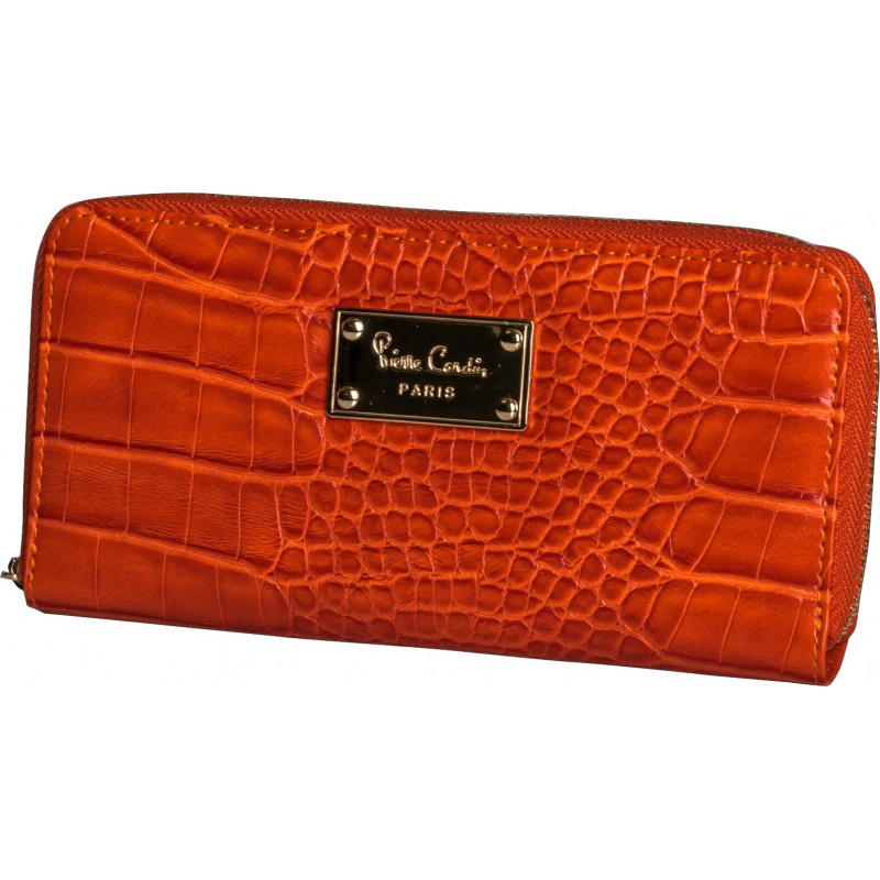 Pierre Cardin Juliana Crock Purse | Orange - KaryKase