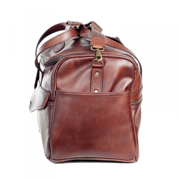 Melvill & Moon Leather Kili Carry On Bag | Brown - KaryKase