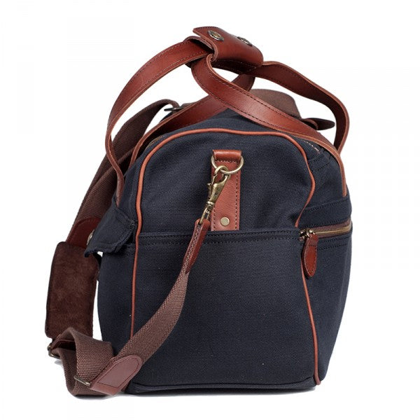 Melvill & Moon Canvas Kili Carry On Bag | Black - KaryKase
