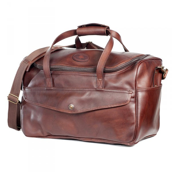 Melvill & Moon Leather Kili Carry On Bag | Brown