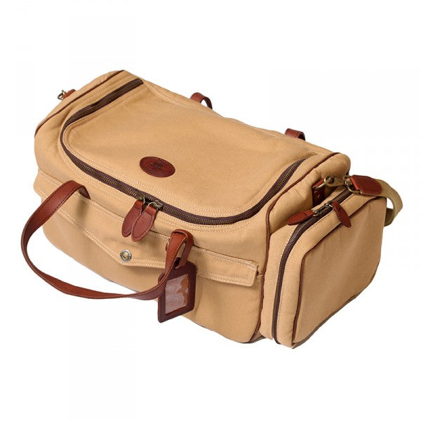 Melvill & Moon Canvas Kilimanjaro Camera Bag | Khaki - KaryKase