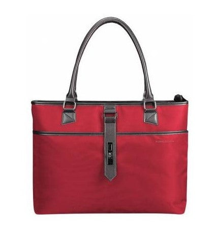 Kingsons Bella Series Ladies Laptop Shoulder Bag | Red