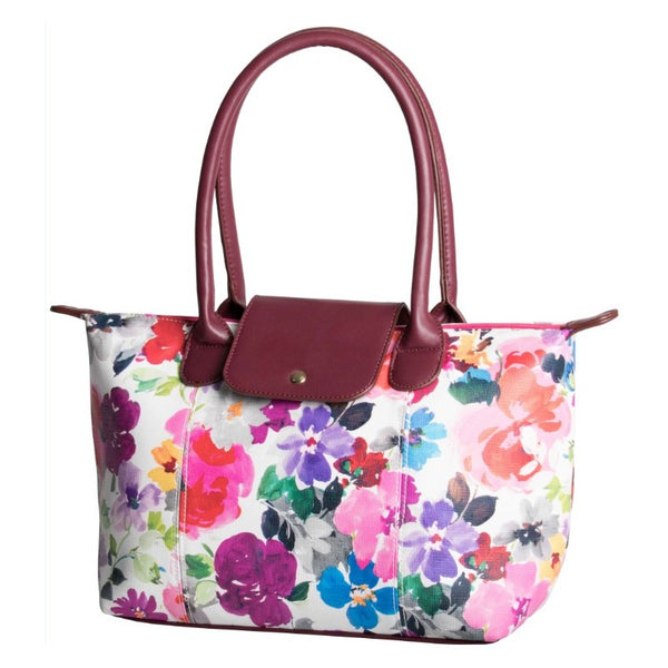 Pierre Cardin Laila Flap Tote | Floral - KaryKase