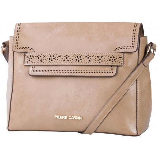 Pierre Cardin Laura Crossbody Bag | Taupe