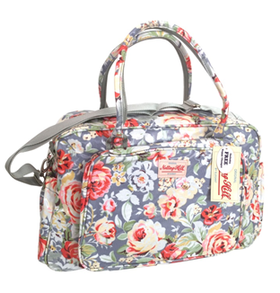 Notting Hill Large Pocket Nappy Bag | Light Floral - KaryKase