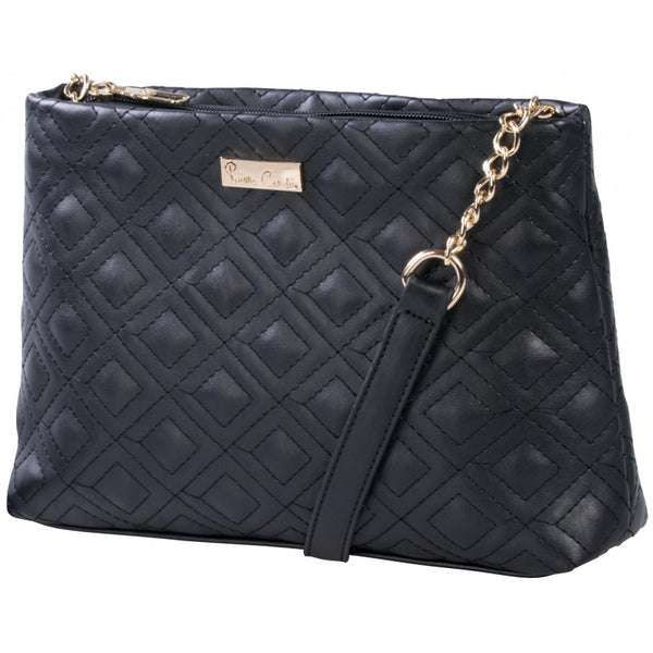Pierre Cardin Megan Quilted Crossbody Bag | Black - KaryKase
