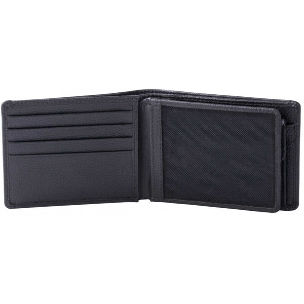 Pierre Cardin Mike Leather Wallet | Black - KaryKase