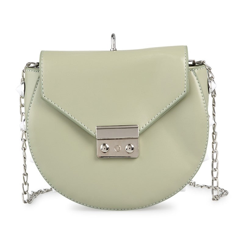 Tessa Design Stud Detail Bag | Mint - KaryKase