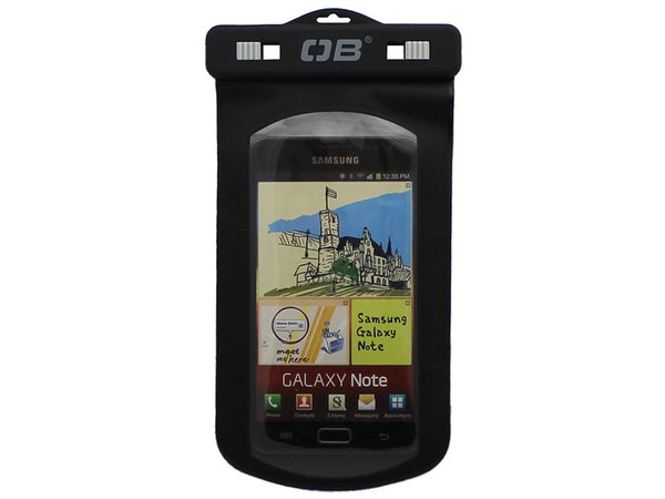 OverBoard Waterproof Large Phone Case | Black