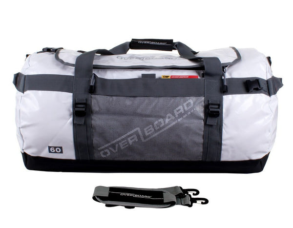 OverBoard Adventure Duffel - 60 Litres | White - KaryKase