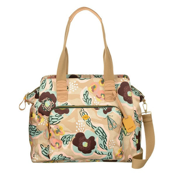 Oilily Ladies Carry All Handbag | Biscuit - KaryKase
