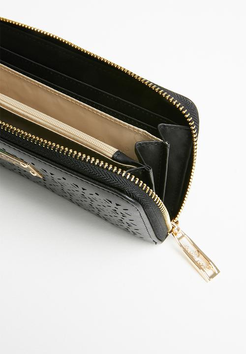 Pierre Cardin Cassandra Cut-out Purse | Black - KaryKase