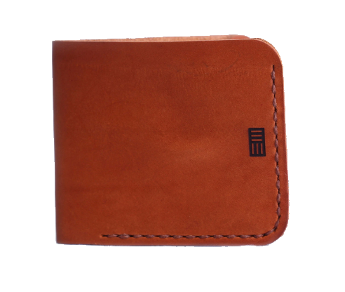 Bark And Mill Slim Bi-Fold Wallet | Tan - KaryKase