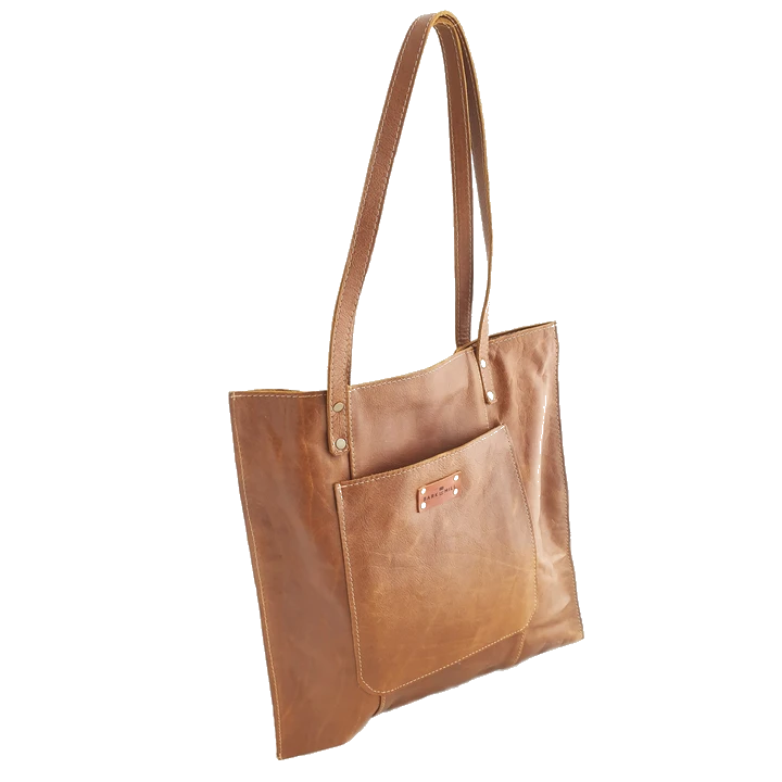 Bark And Mill Tijen Everyday Shoulder Bag | Tan - KaryKase