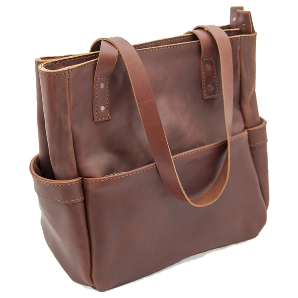 Bark And Mill Penelope Handbag | Chocolate - KaryKase