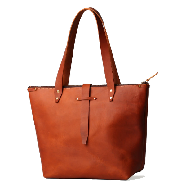 Bark And Mill Original Shopper Handbag | Tan - KaryKase