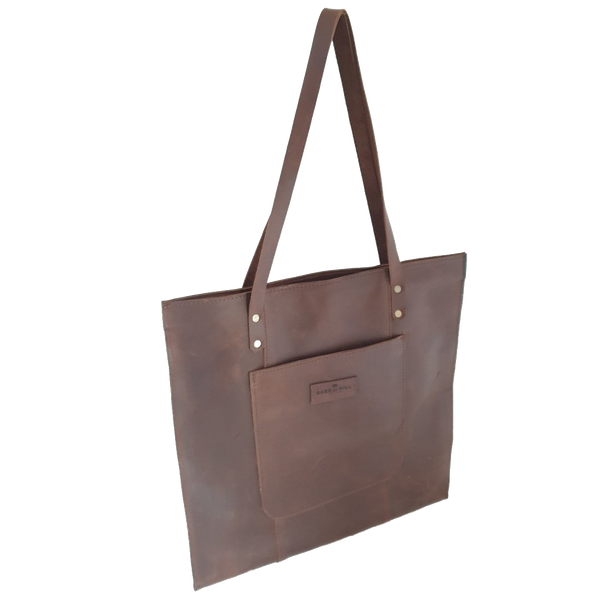 Bark And Mill Tijen Everyday Shoulder Bag | Chocolate - KaryKase