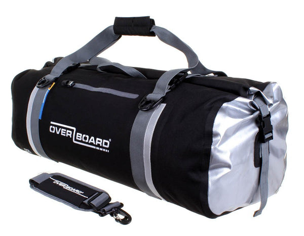 OverBoard Classic Waterproof 60L Duffel Bag | Black