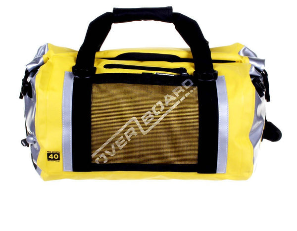 OverBoard Pro-Sport Waterproof 40L Duffel Bag | Yellow
