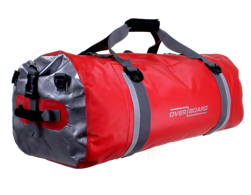 OverBoard Pro-Sport Waterproof 60L Duffel Bag | Red - KaryKase