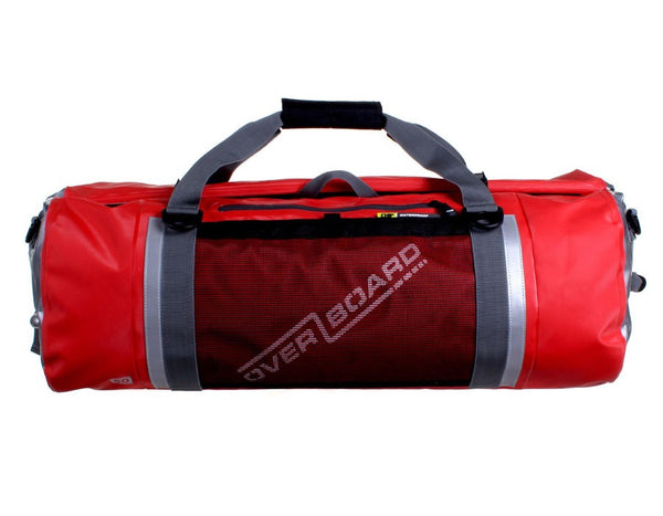 OverBoard Pro-Sport Waterproof 60L Duffel Bag | Red
